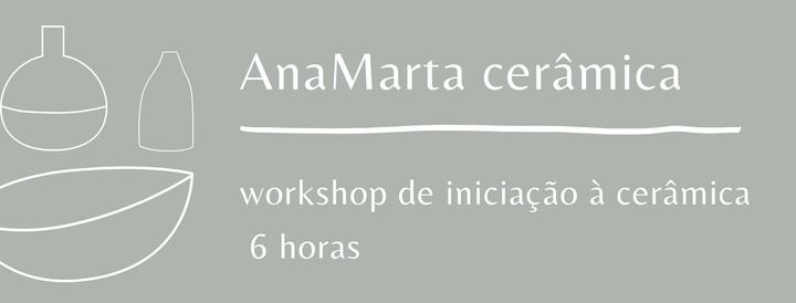 Workshop de iniciação à cerâmica ESGOTADO