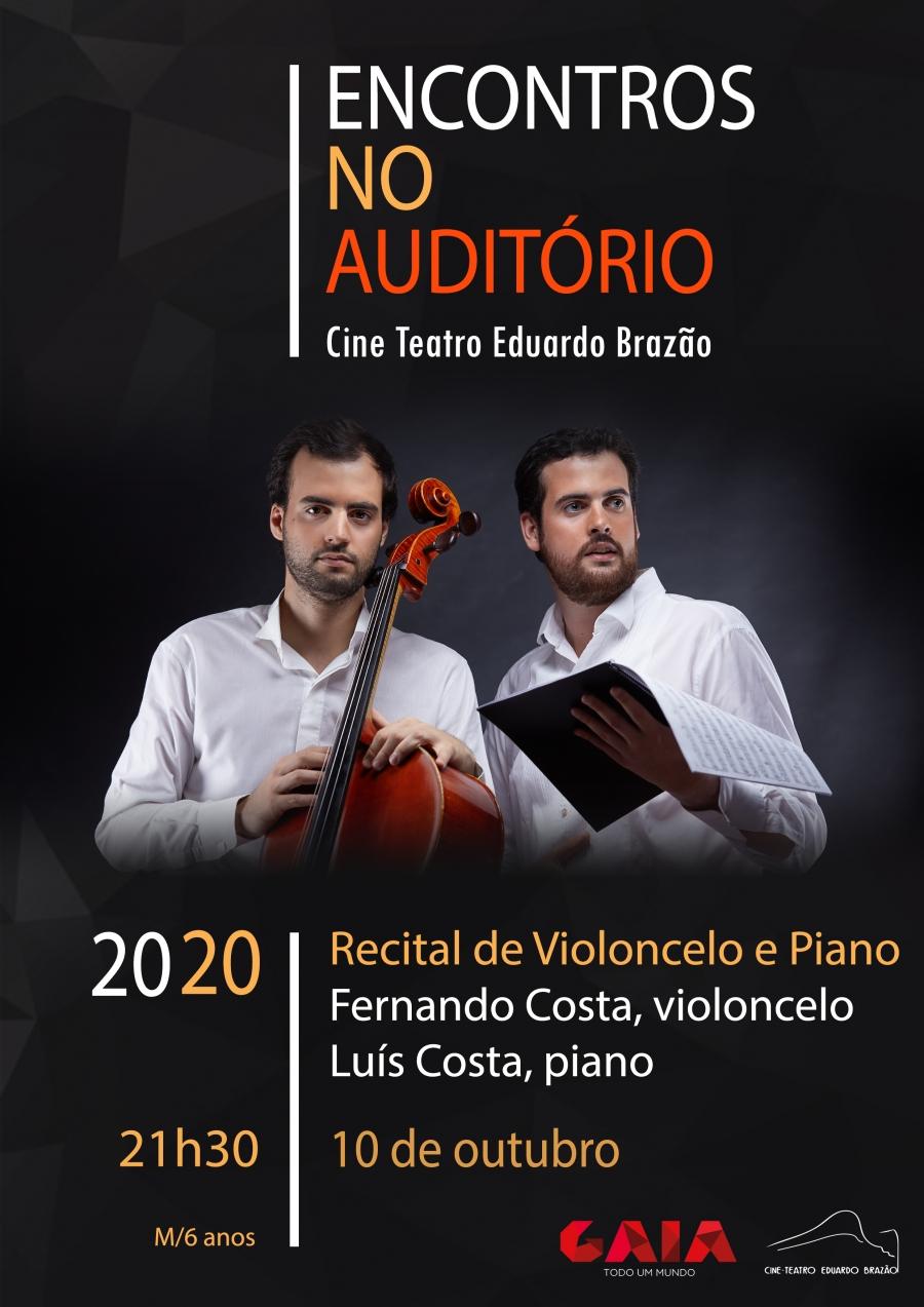 Fernando Costa (violoncelo) e Luís Costa (piano)