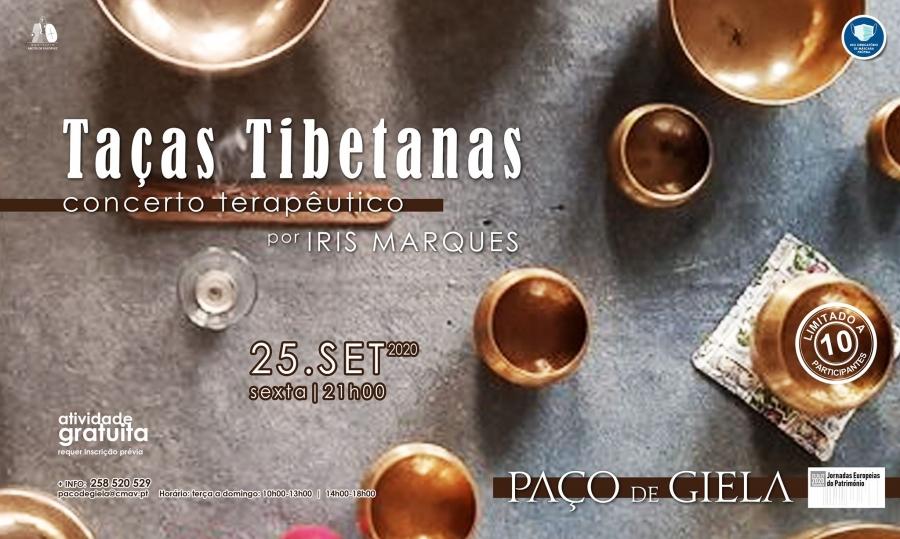 Concerto Terapêutico Com Taças Tibetanas