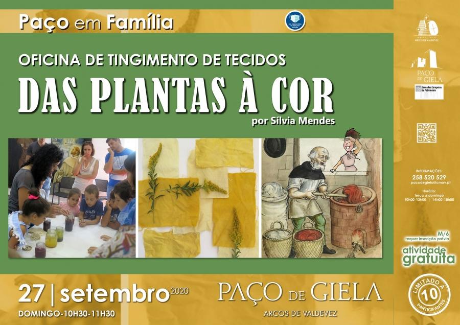 Paço em Família: Das Plantas à Cor
