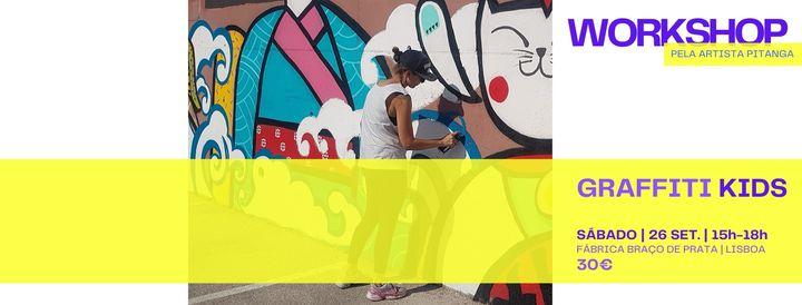 Workshop | Graffiti Kids (ESGOTADO)
