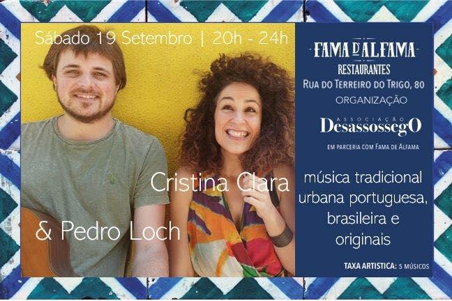 Cristina Clara e Pedro Loch