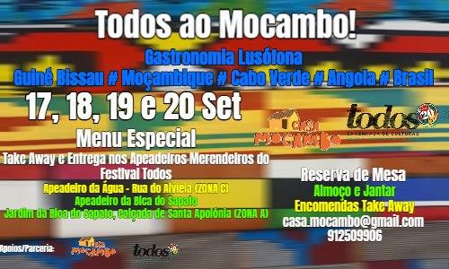 TODOS ao Mocambo! - Apeadeiros Merendeiros Festival Todos
