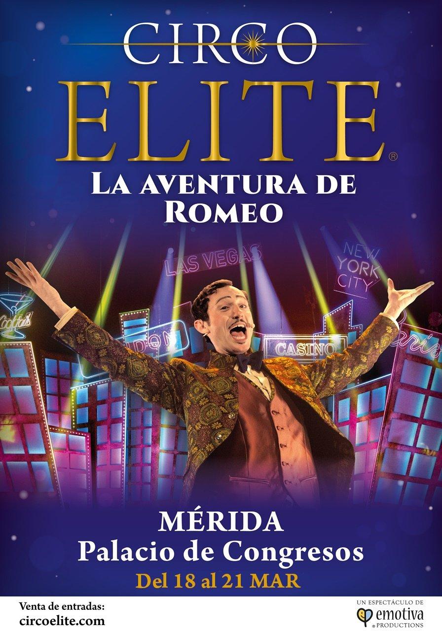 Circo ELITE 'La aventura de Romeo' (NUEVA FECHA)
