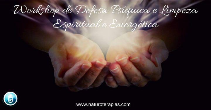 Workshop de Defesa Psíquica e Limpeza Espiritual e Energética