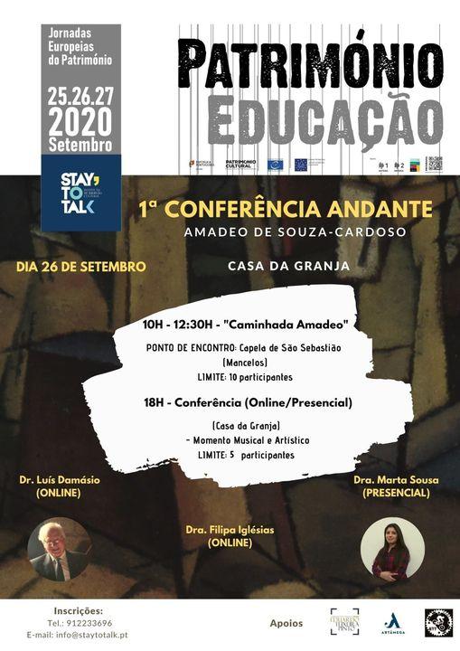 1º Conferência Andante-Amadeo Souza-Cardoso