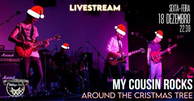 LIVE STREAM | My Cousin Rocks @ Mary Spot Vintage Bar Christmas