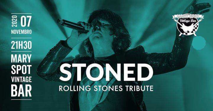 Stoned tributo Rolling Stones Mary Spot Vintage Bar