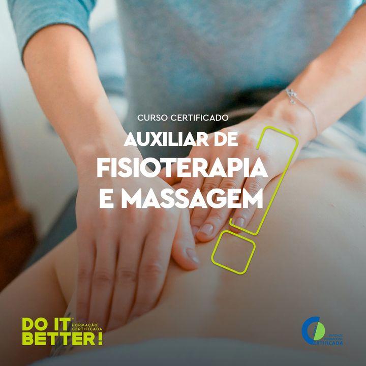Formação Curso de Técnico Auxiliar de Fisioterapia e Massagem