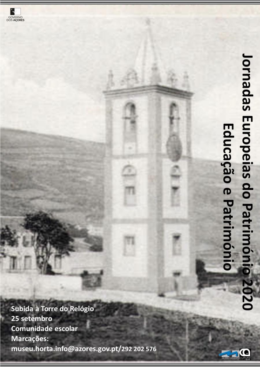 Subida à Torre do Relógio