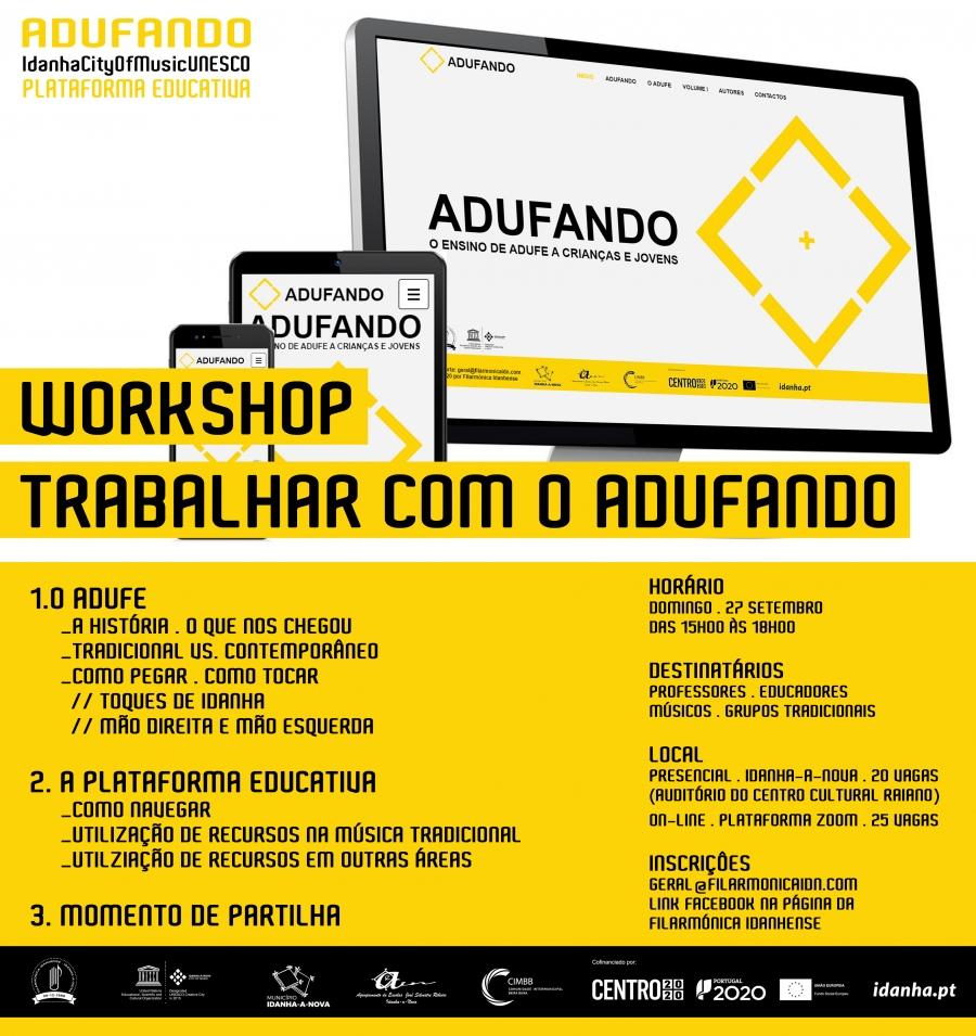Workshop Trabalhando com o Adufando