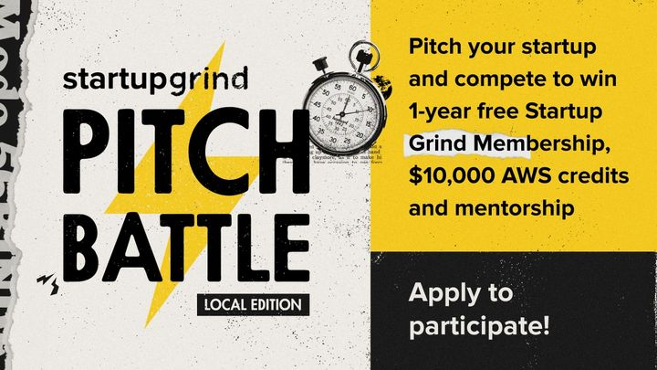 SGLX-Pitch Battle powered by Beta-i & Founder Institute + Networking (virtual)