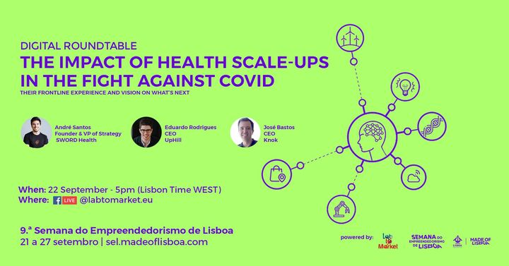 Digital Roundtable: Health Scale-ups In The Fight Against COVID