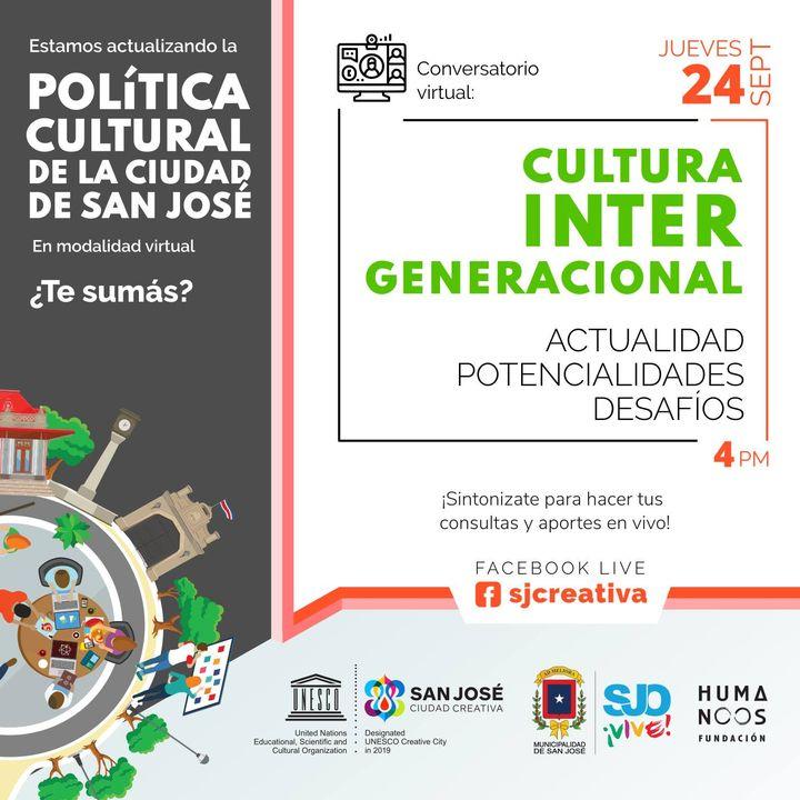 Conversatorio Virtual: Cultura Intergeneracional