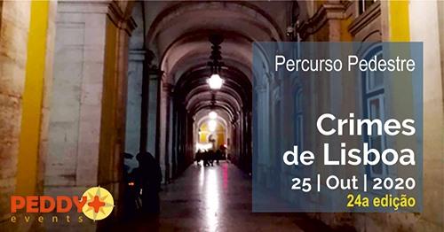 Percurso Pedestre 'Crimes de Lisboa' (24ª Edição)