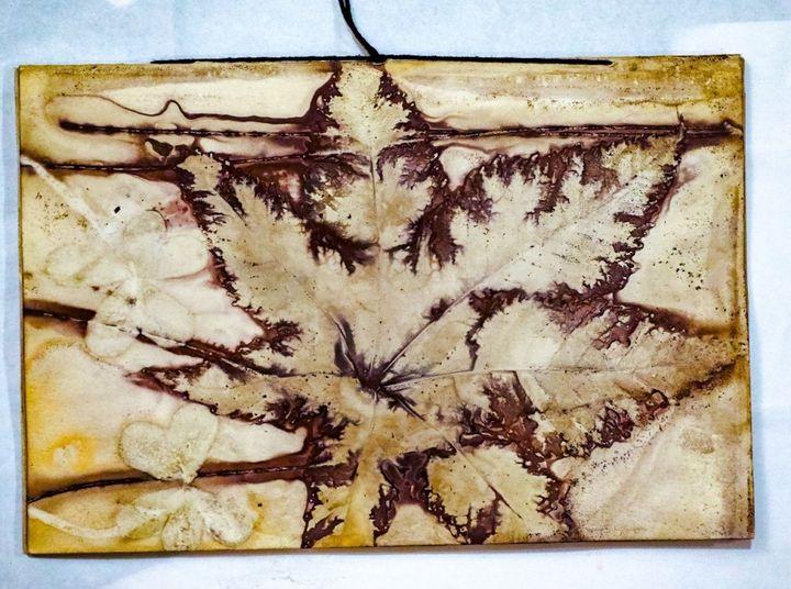 Impressão Botânica em Tecido