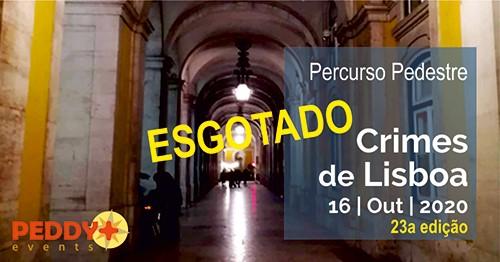 Percurso Pedestre 'Crimes de Lisboa' (23ª Edição)