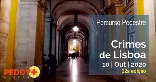 Percurso Pedestre 'Crimes de Lisboa' (22ª Edição)