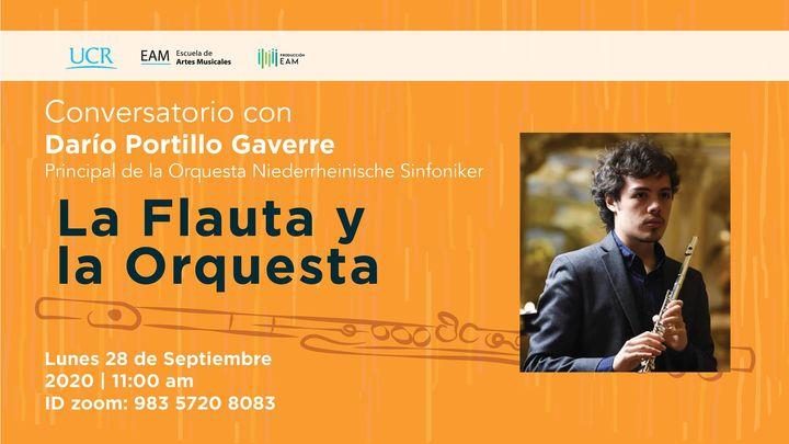 La flauta y la orquesta / Darío Portillo Gavarre