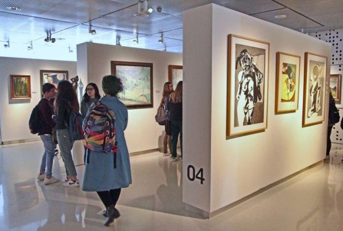 Visita al Museo Provincial de Bellas Artes   Diario