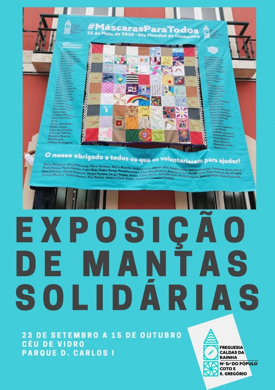 Exposição de Mantas Solidárias
