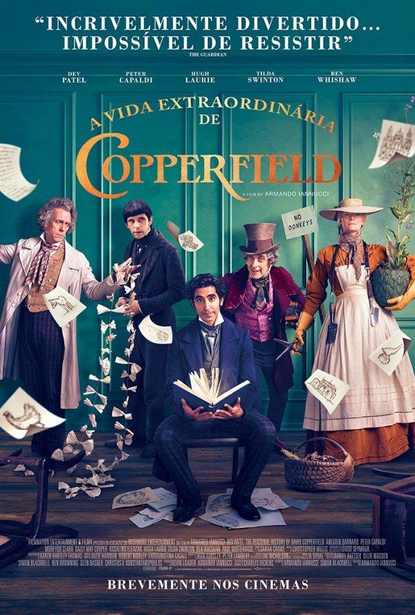 'A Vida Extraordinária de David Copperfield'  |  M/12