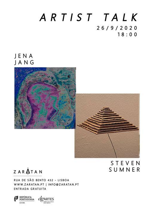 ARTISTS TALK | Jena Jang + Steven Sumner