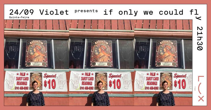 Violet presents 'if only we could fly'