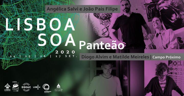 Diogo Alvim e Matilde Meireles + Angelica Salvi e João Pais Filipe