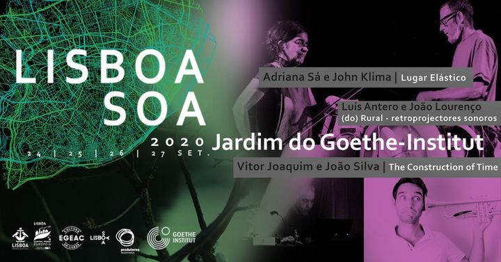 Luis Antero e João Lourenço + Adriana Sá e John Klima + Vitor Joaquim e João Silva