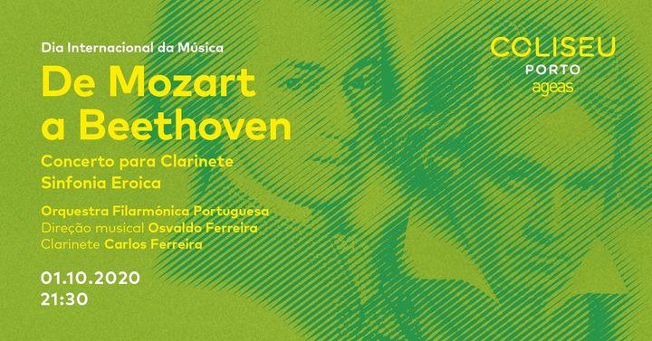 De Mozart a Beethoven - Dia Internacional da Música