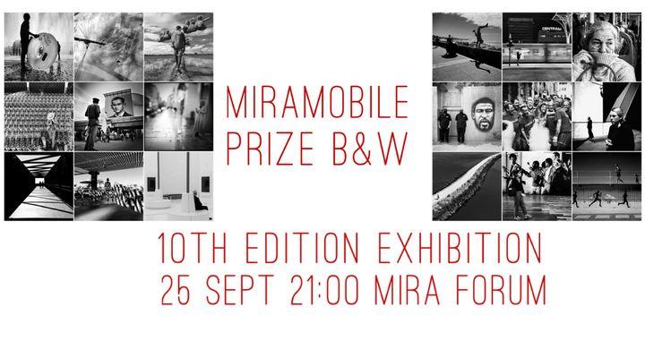 Inauguração da exposição MIRA Mobile Prize Street Photography  B&W