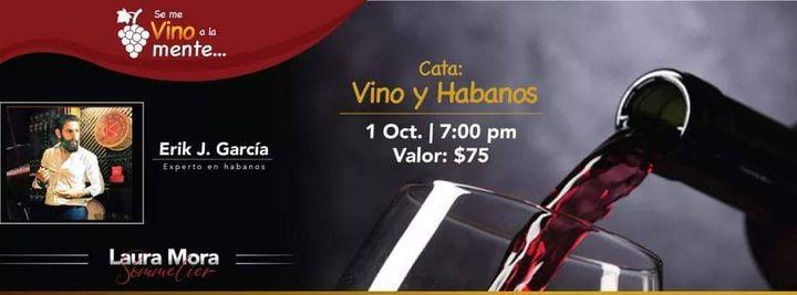 Cata Online: Vino y Habanos