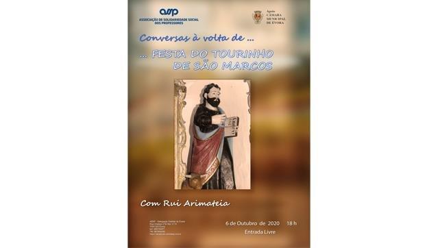 Conversas à volta de... A FESTA DO TOURINHO DE S. MARCOS com Rui Arimateia