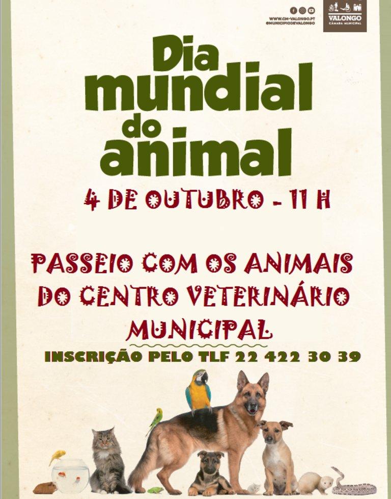 Dia Mundial do Animal 2020