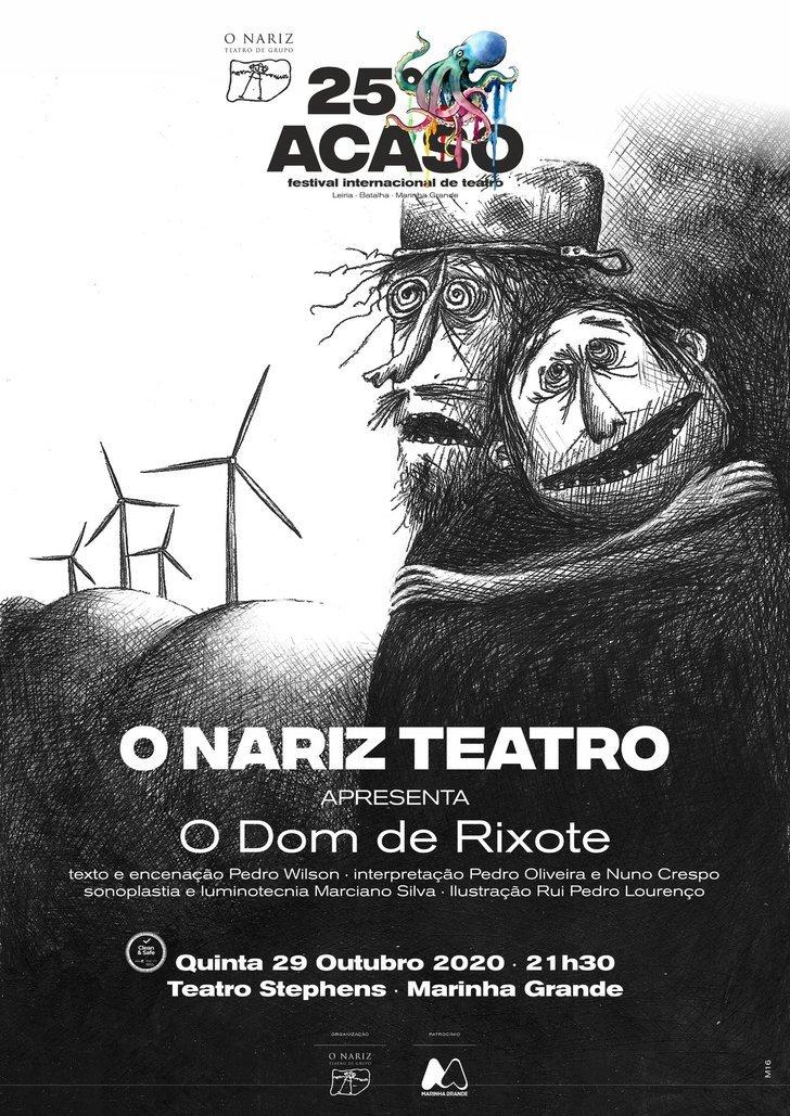 TEATRO | O DOM DE RIXOTE encenação ...