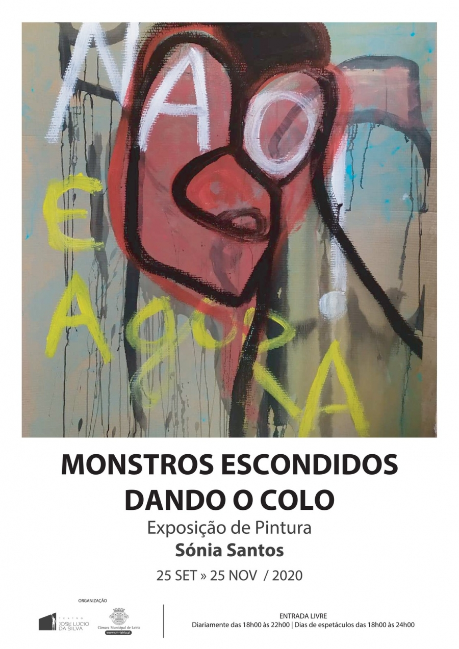 Monstros escondidos dando o colo