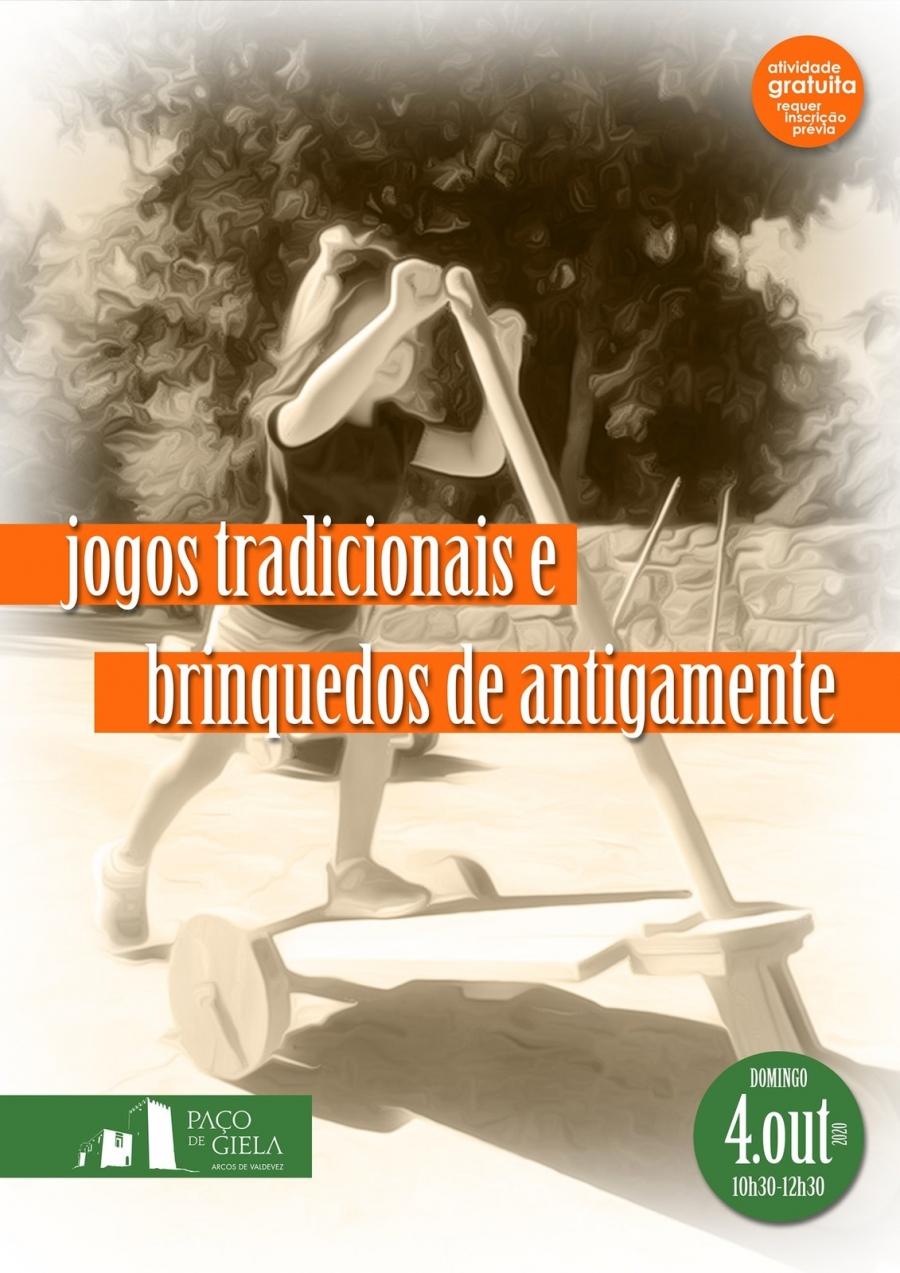 JOGOS TRADICIONAIS E BRINQUEDOS DE ANTIGAMENTE