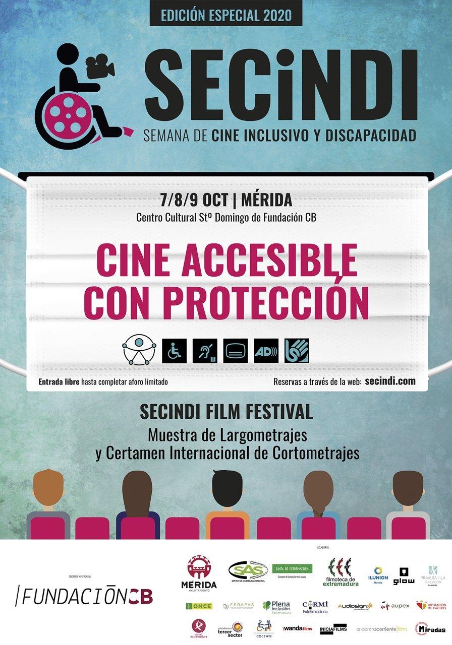 SECINDI 2020: Semana de Cine Inclusivo y Discapacidad