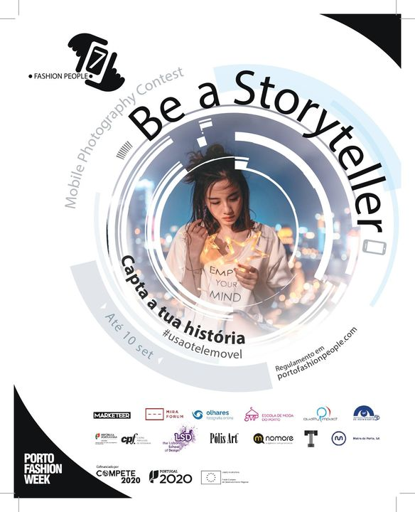 Exposição 'Be a storyteller'