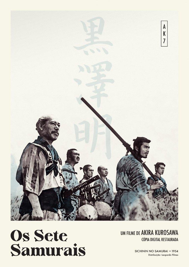 'Os Sete Samurais'
