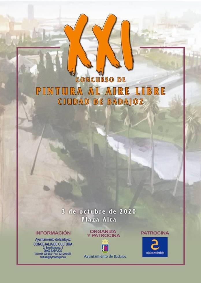 """XXI Concurso de pintura al aire libre """"Ciudad de Badajoz"""