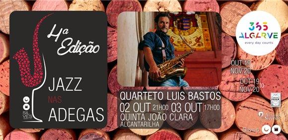 Jazz nas Adegas com Quarteto Luis Bastos