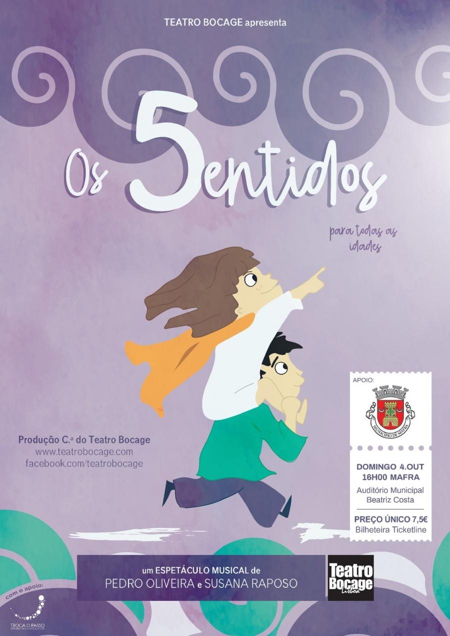 'Os 5 sentidos' - Teatro infantil