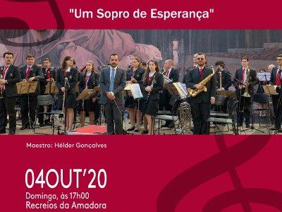 Concerto da Banda da SFCIA | Um Sopro de Esperança