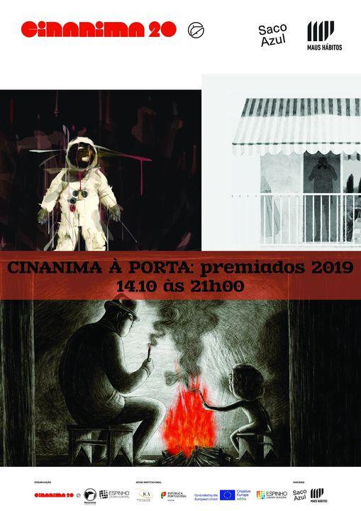 CINANIMA À PORTA: PREMIADOS 2019   AWARDED 2019
