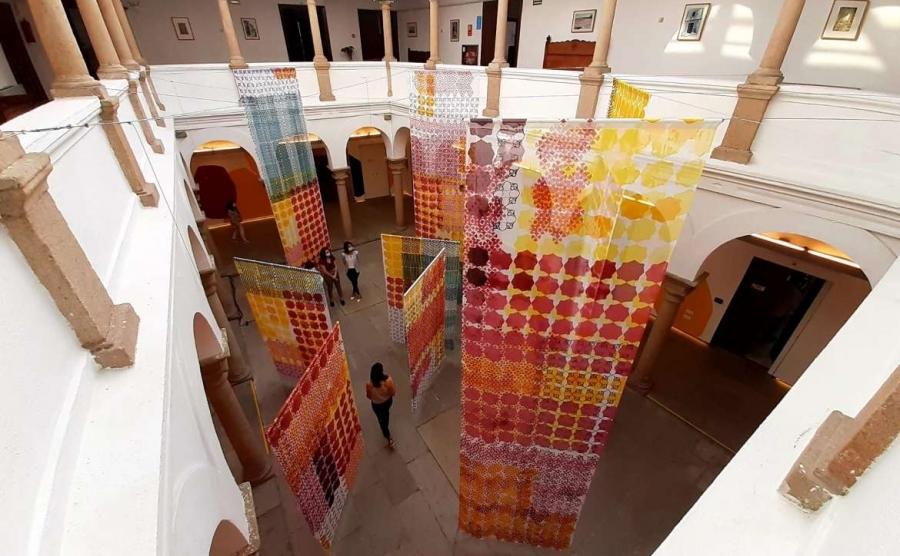 Muestra 'Pattern Reveal' de Isabel Flores