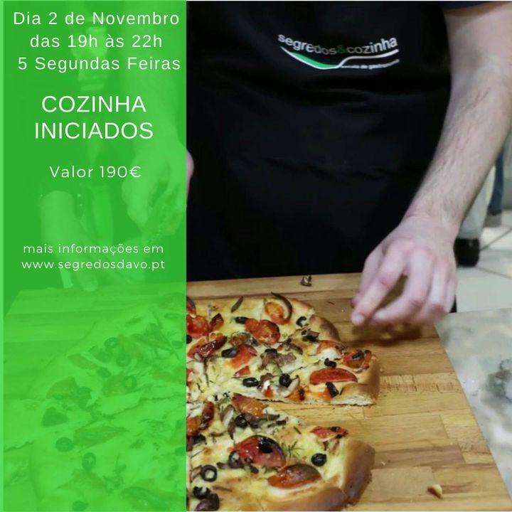 Cozinha Iniciados - Pós Laboral - lotada