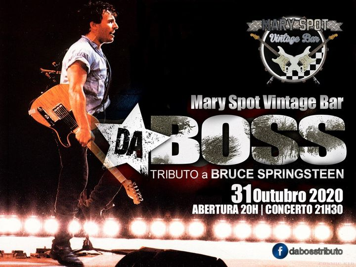 Tributo a Bruce Springsteen no Mary Spot Vintage Bar