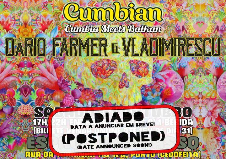 Adiado / Postponed-Cumbian: Cumbia Meets Balkan (Benefit Party)